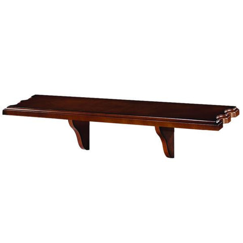 RAM Game Room Wall Shelf - Chestnut