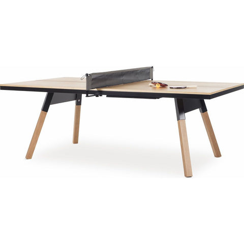 RS Barcelona You and Me Oak-Black 220 Medium Tennis Table
