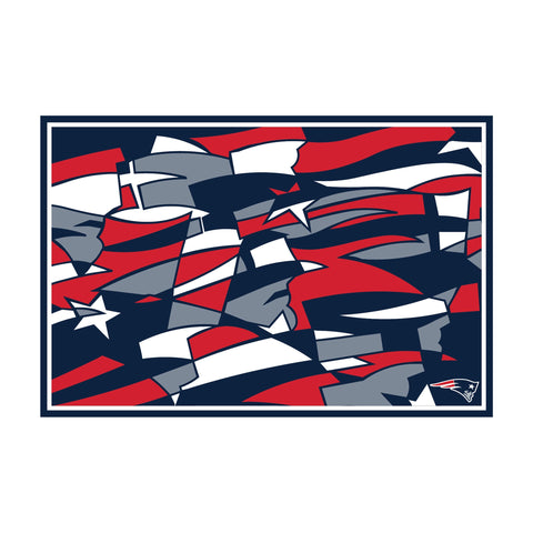 Imperial New England Patriots Modern 5' X 7' Tapestry