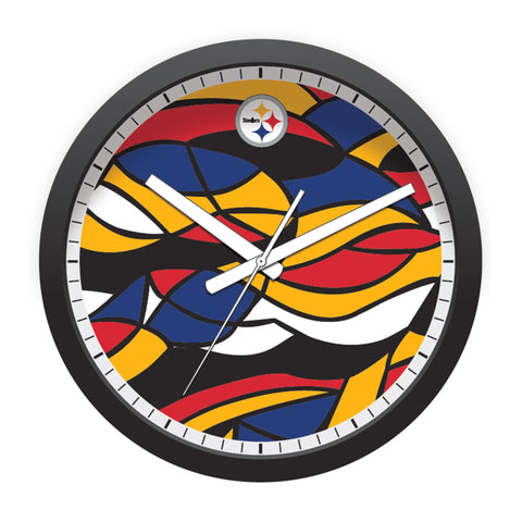Imperial Pittsburgh Steelers Modern Clock