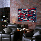 Imperial New England Patriots Modern 5' X 7' Tapestry Rug