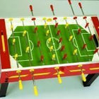 Garlando G-500 Outdoor Foosball Table in Red