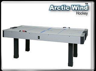 Dynamo 7' Arctic Wind Air Hockey Table