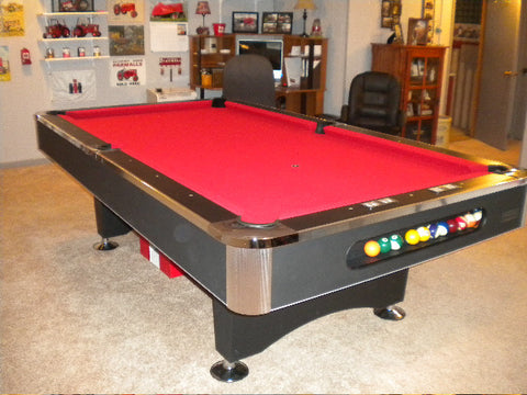 Imperial Black Pearl Pool Table