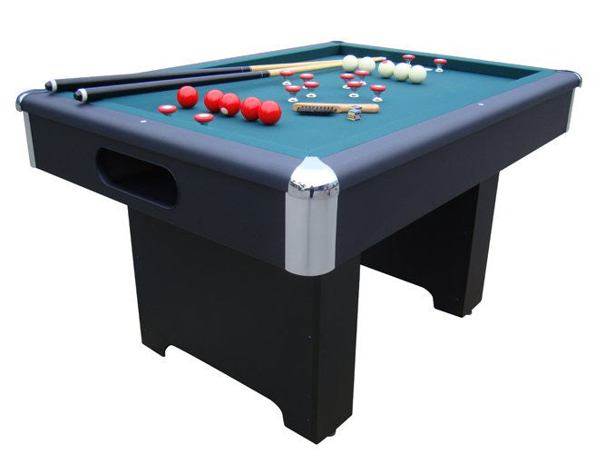 Berner Billiards Slate Bumper Pool Table