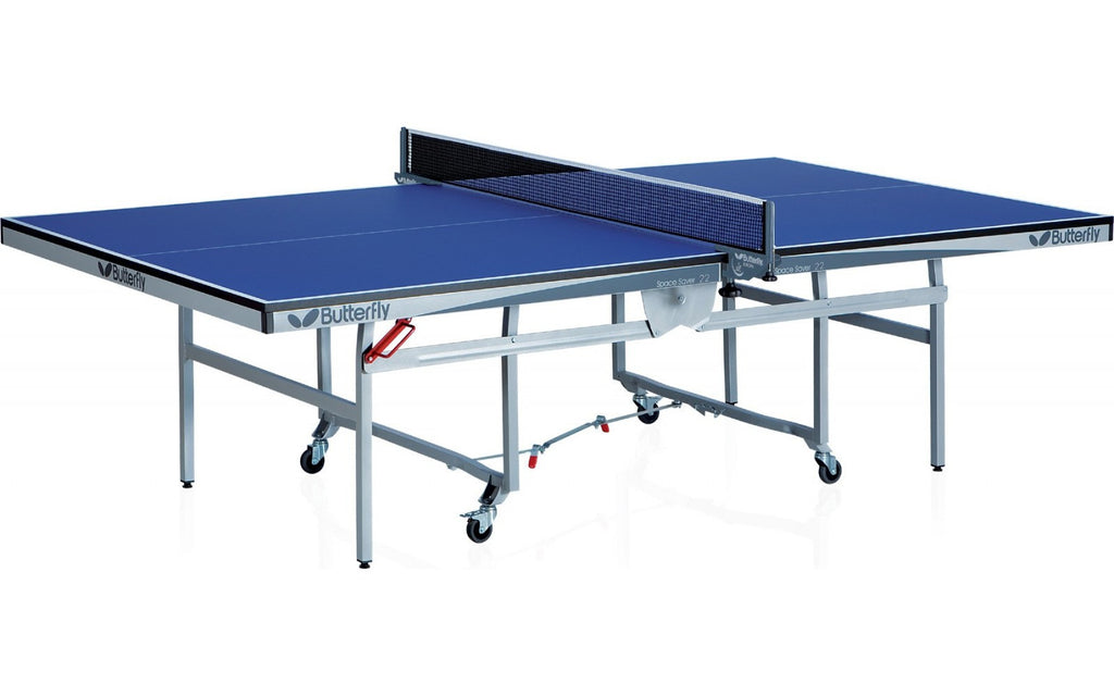 Butterfly Space Saver 22 Blue Table Tennis Table