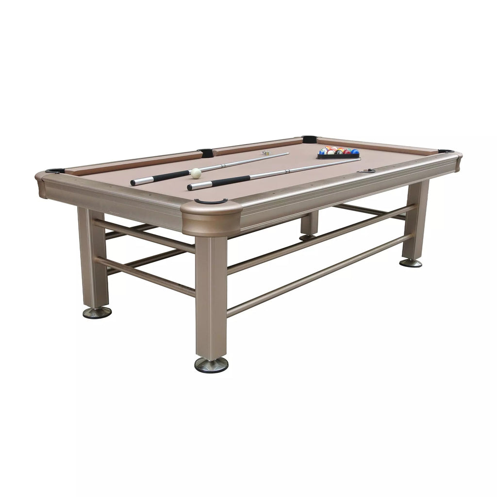 The Imperial Outdoor 8' Pool Table