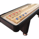 Playcraft Woodbridge 14' Shuffleboard Table in Espresso