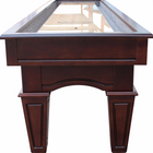Playcraft St. Lawrence 14' Pro-Style Shuffleboard Table in Espresso