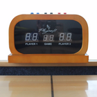 "Playcraft 11"" Hard Wood Elec. Shuffleboard Scorers in Black, Cherry, Espresso and Honey"