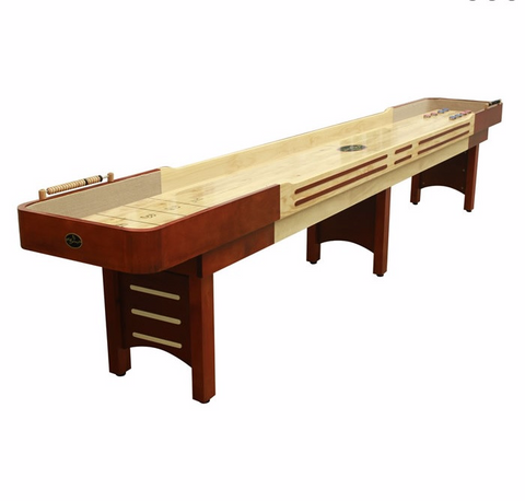 Playcraft Coventry 9' Shuffleboard Table in Cherry