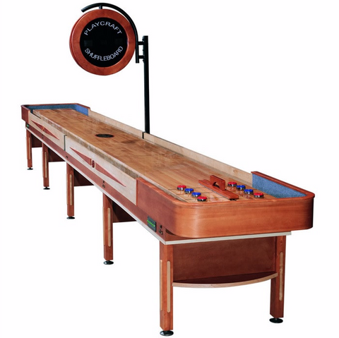 Playcraft Telluride 22' Pro Style Shuffleboard Table in Honey