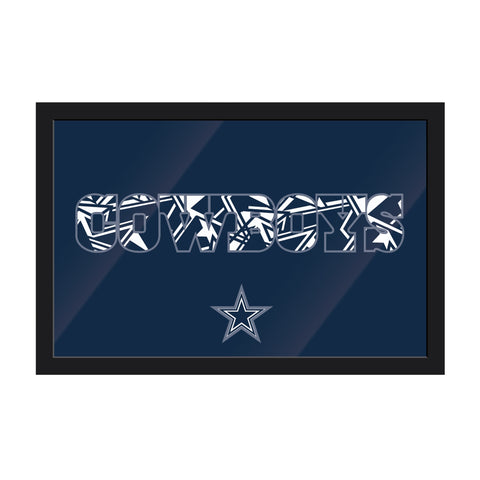 Imperial Dallas Cowboys Framed Modern Wall Art