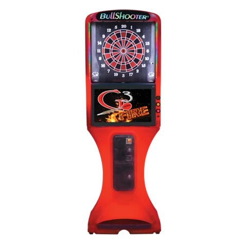 Arachnid Galaxy 3 Fire Dartboard Coin Operated