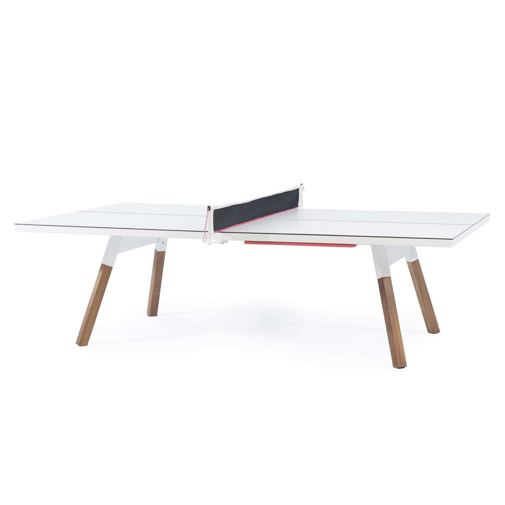 RS Barcelona You and Me White 220 Medium Outdoor Tennis Table