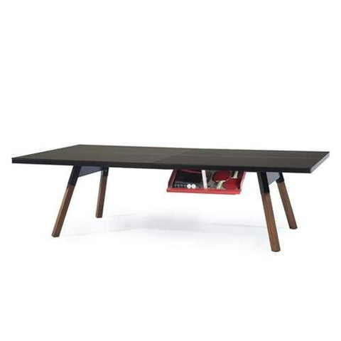 RS Barcelona You and Me Black Standard Tennis Table