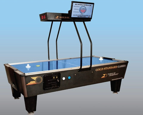 Gold Standard Games CLASSIC PREMIUM 8' Air Hockey Table (Coin Op)
