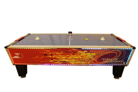 Gold Standard Games 8' Gold Flare Home Air Hockey Table