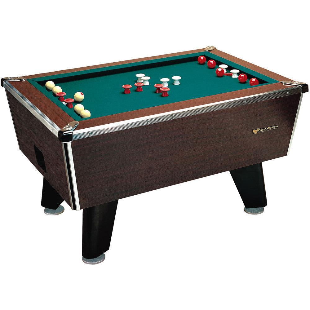 Great American Bumper Pool Coin Operated Pool Table