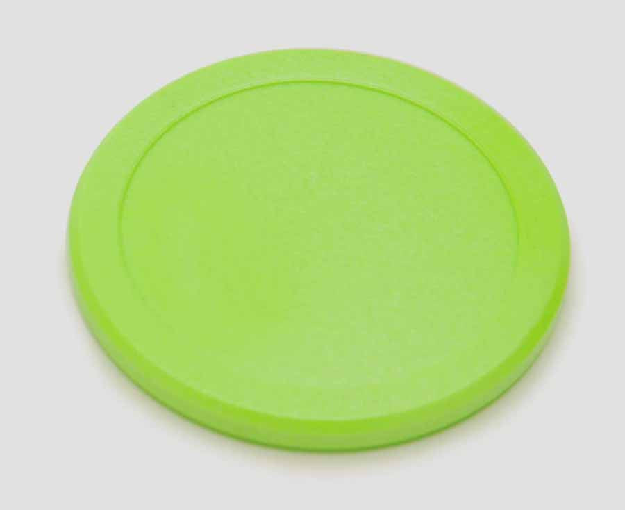 "Playcraft 3 1/4"" Hockey Disc, Green"