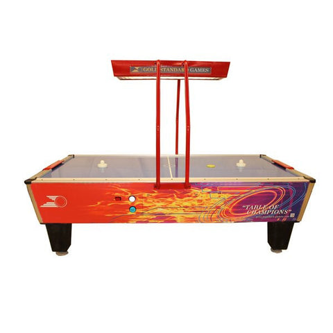 Gold Standard Games 8' Gold Pro Elite Air Hockey Table