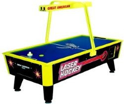 Great American Laser Air Hockey w/E.Score & Light Bar