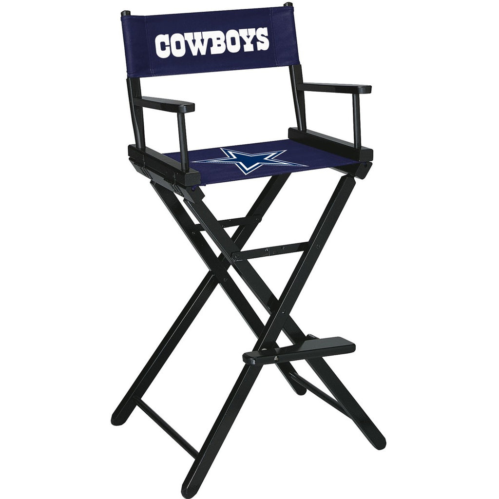 Imperial Dallas Cowboys Bar Height Directors Chair