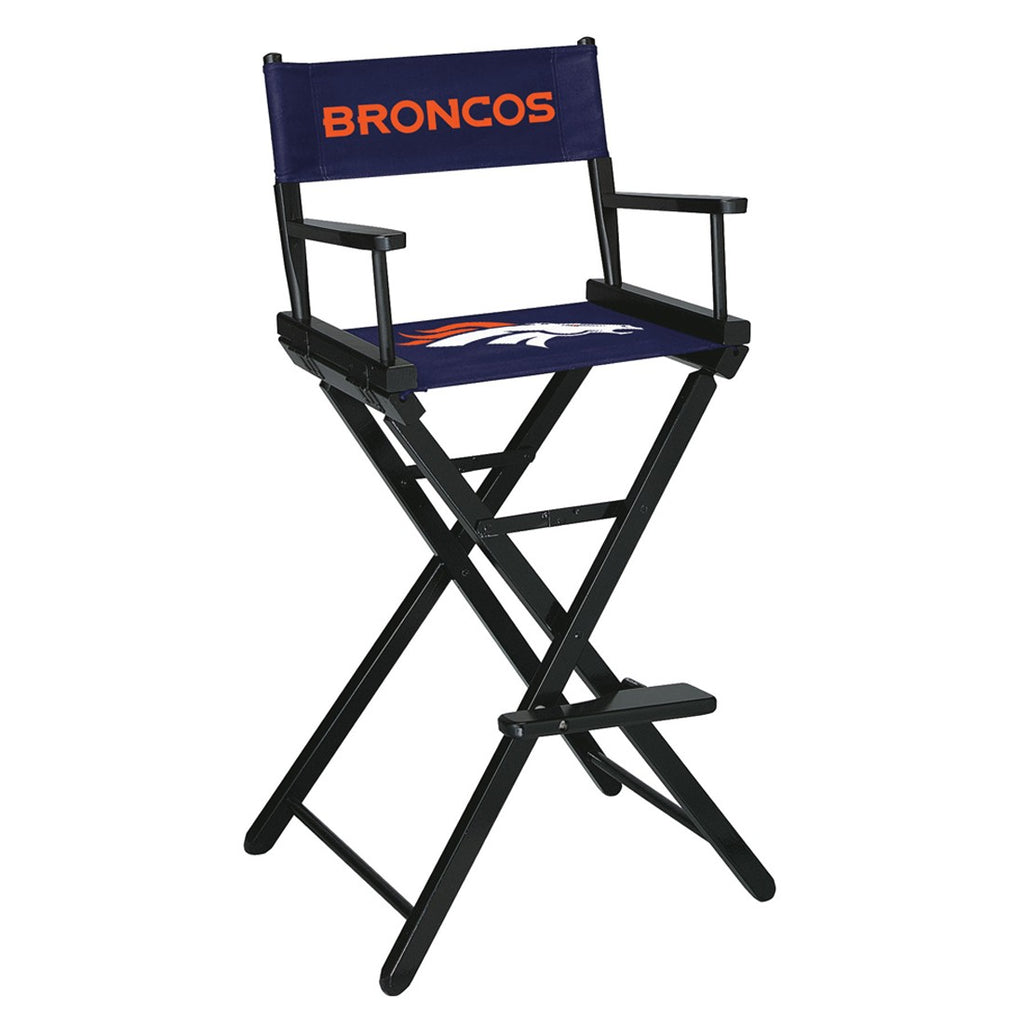 Imperial Denver Broncos Bar Height Directors Chair