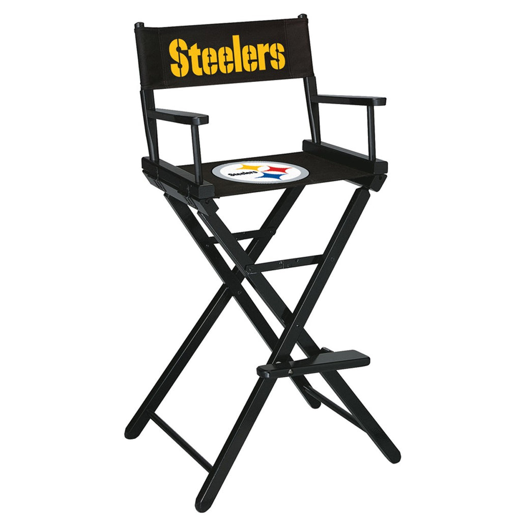 Imperial Pittsburgh Steelers Bar Height Directors Chair