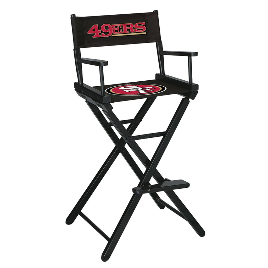 Imperial San Francisco 49ers Bar Height Directors Chair