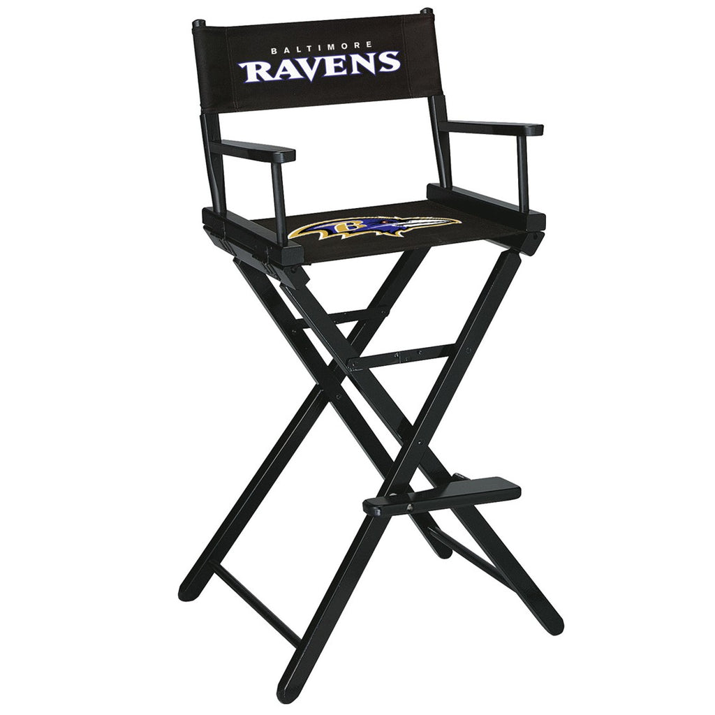 Imperial Baltimore Ravens Bar Height Directors Chair