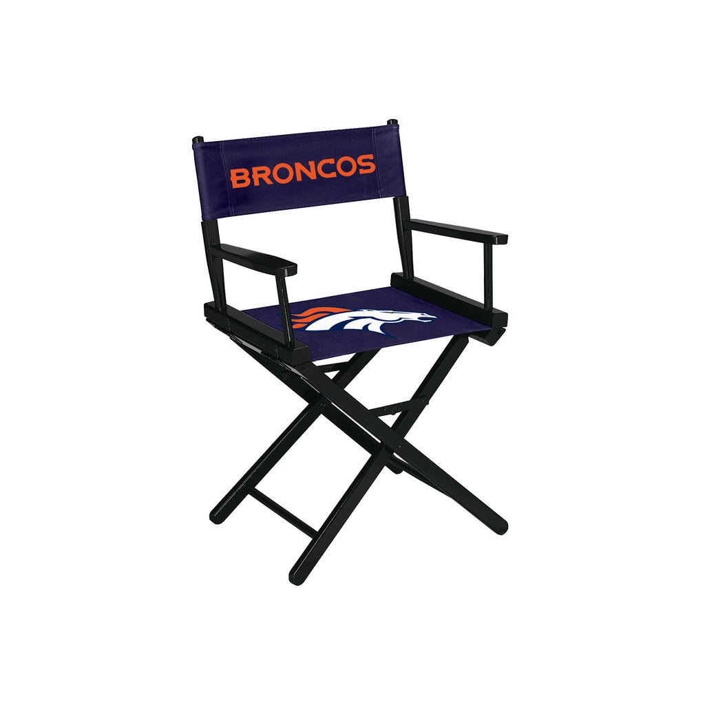 Imperial Denver Broncos Table Height Directors Chair