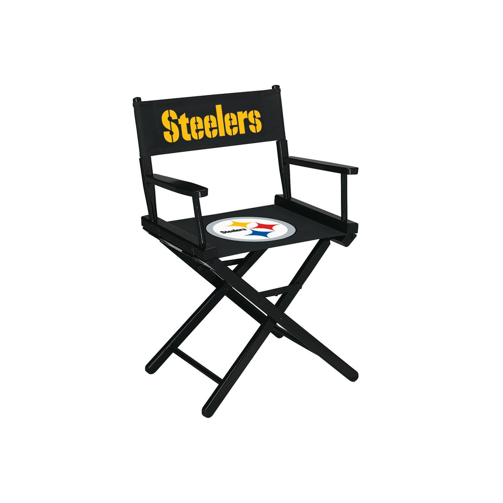 Imperial Pittsburgh Steelers Table Height Directors Chair