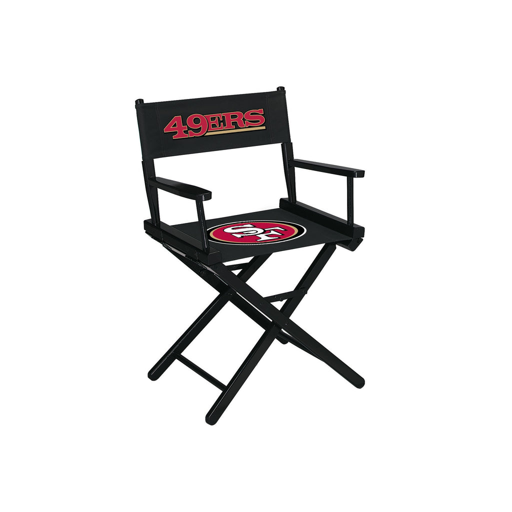 Imperial San Francisco 49ers Table Height Directors Chair