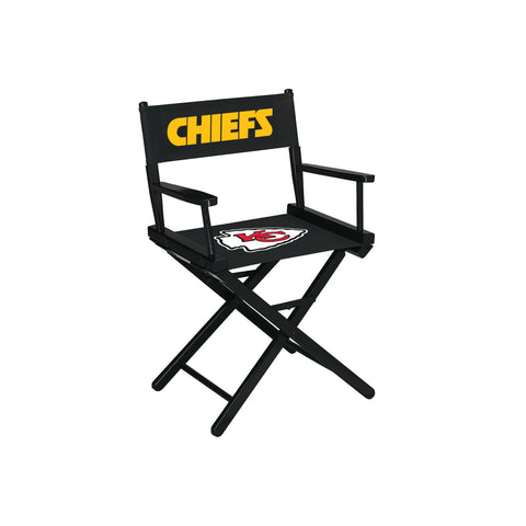 Imperial Kansas City Chiefs Table Height Directors Chair