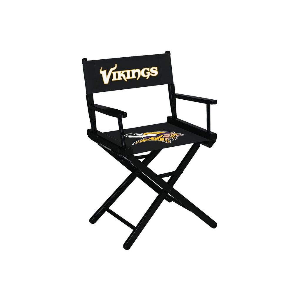 Imperial Minnesota Vikings Table Height Directors Chair