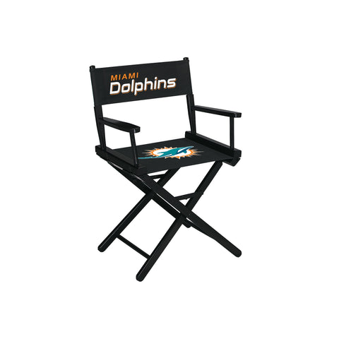 Imperial Miami Dolphins Table Height Directors Chair