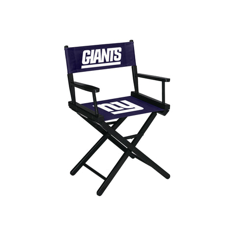 Imperial New York Giants Table Height Directors Chair