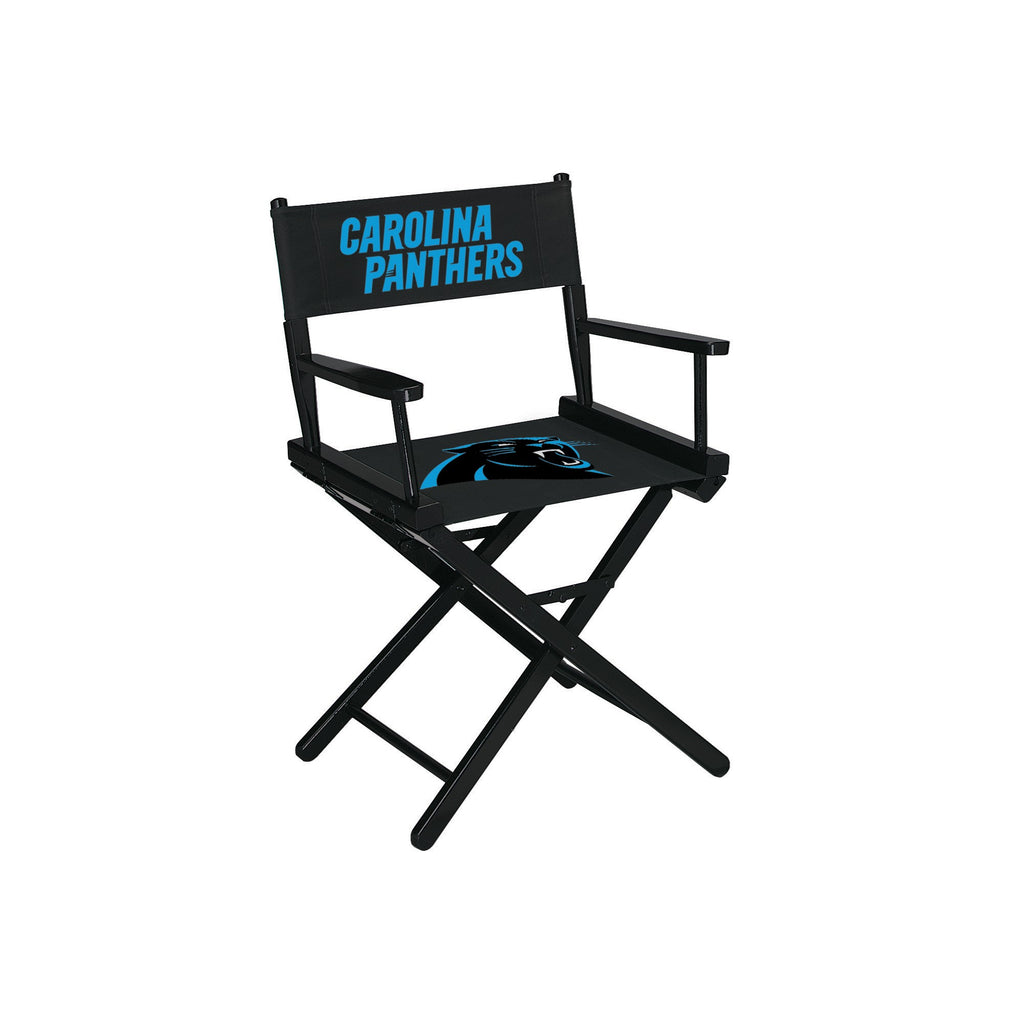 Imperial Carolina Panthers Table Height Directors Chair