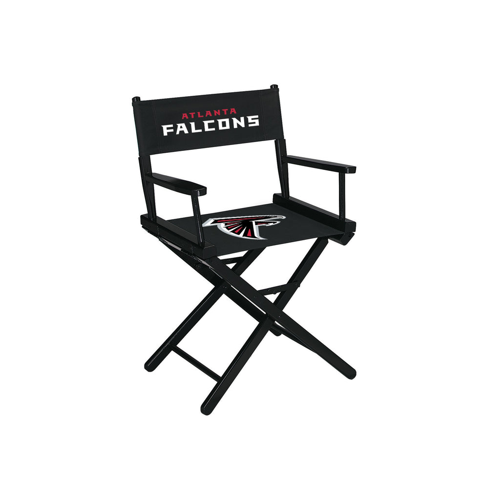 Imperial Atlanta Falcons Table Height Directors Chair