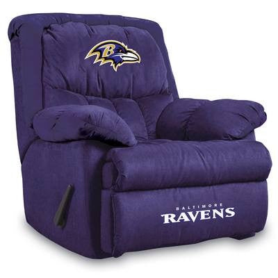 Imperial Baltimore Ravens Microfiber Home Team Recliner