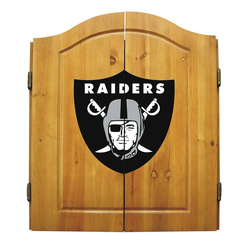 Imperial Oakland Raiders Dart Cabinet Set