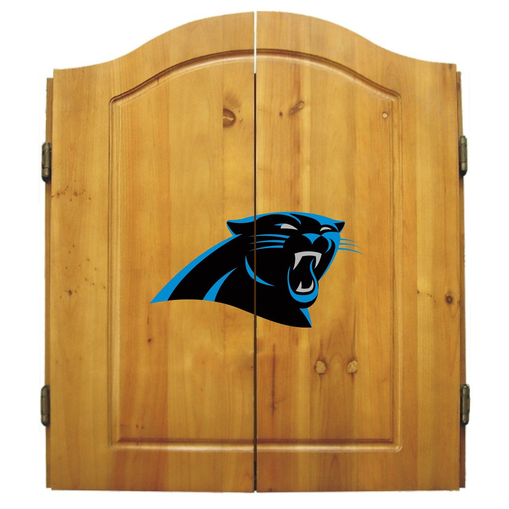 Imperial Carolina Panthers Dart Cabinet Set