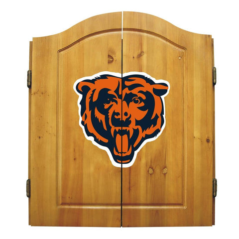 Imperial Chicago Bears Dart Cabinet Set