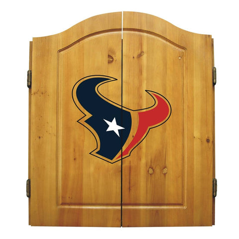 Imperial Houston Texans Dart Cabinet Set
