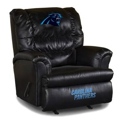 Imperial Carolina Panthers Leather Big Daddy Recliner