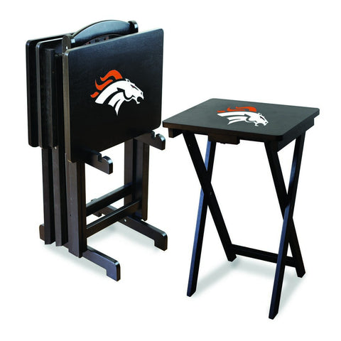 Imperial Denver Broncos TV Snack Tray Set