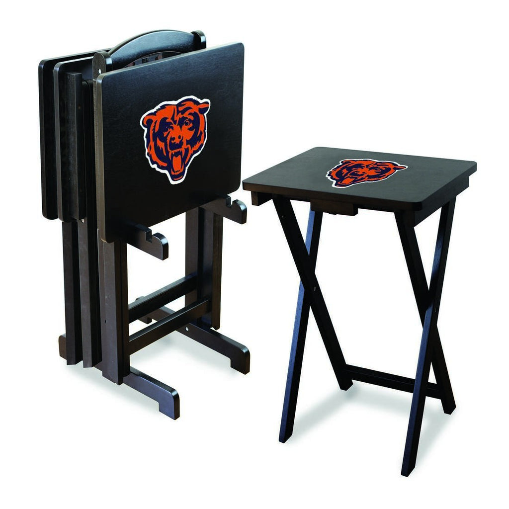 Imperial Chicago Bears TV Snack Tray Set