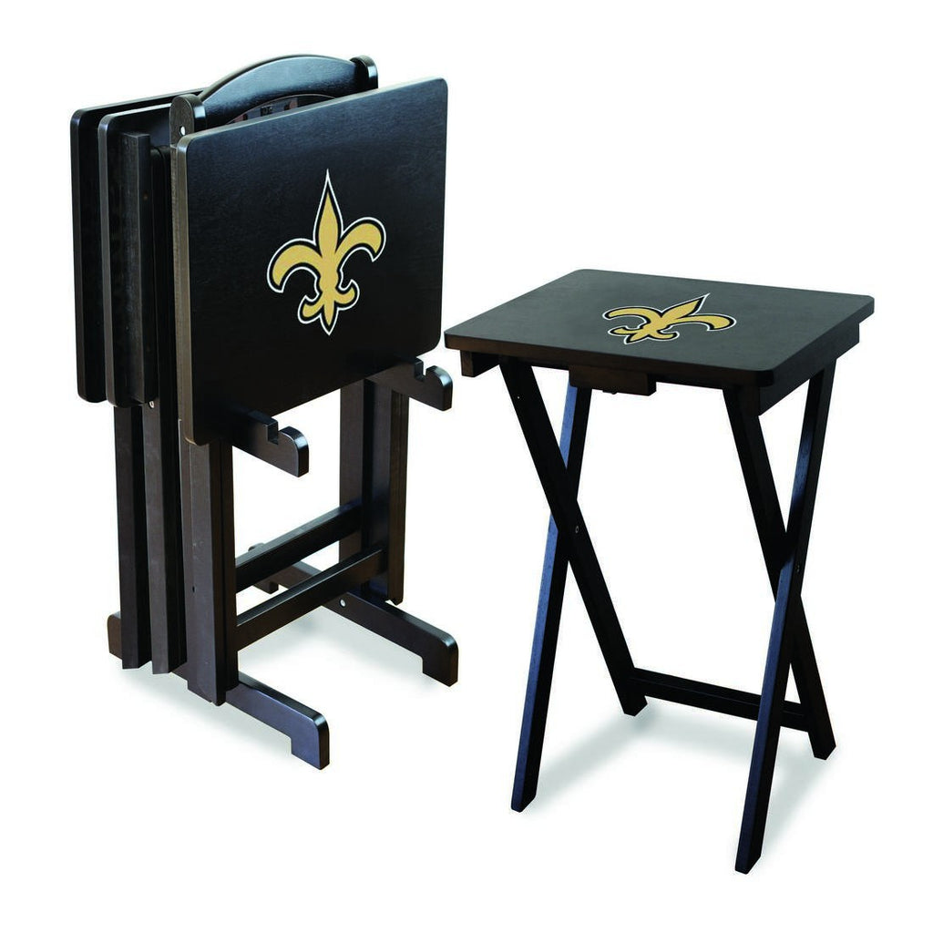 Imperial New Orleans Saints TV Snack Tray Set