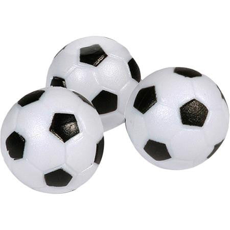 Carmelli 3-Pack Black & White Foosballs